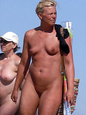 gorgeous mature topless beach