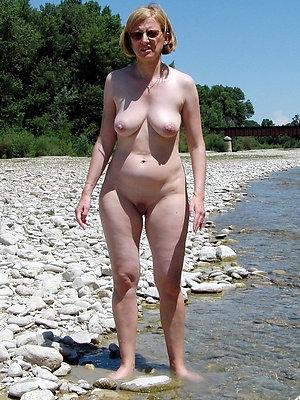 naughty mature women on beach