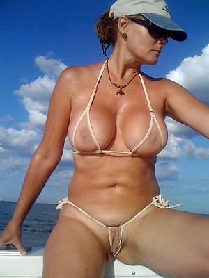slutty full-grown women bikini