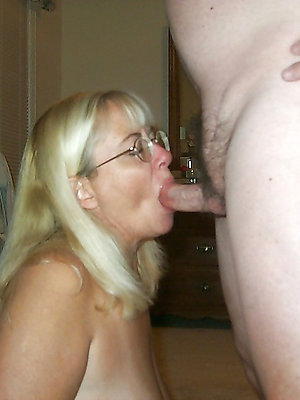 spectacular untrained mature blowjob