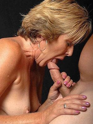 beautiful mature woman blowjob pics