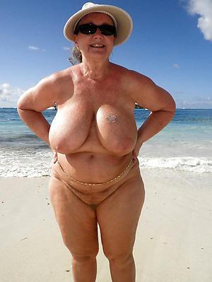 super-sexy mature body of men with big tits