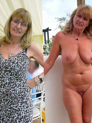 mature dressed undressed pictures