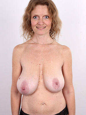 hot sexy mature saggy tits photo