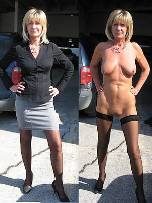 sexy wives dressed undressed posing uncovered