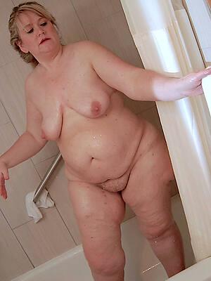 busty unfold mature spliced shower