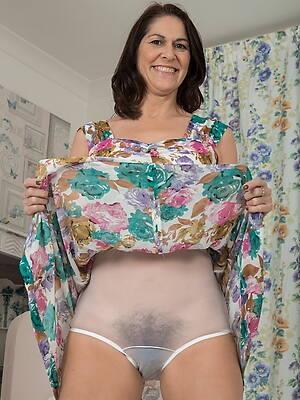 sexy matures in panties posing