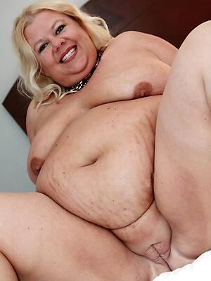 blistering mature fat nude women