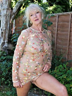 saleable mature women over 60 markswoman