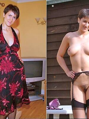 dilettante porn pic of matures dressed and undressed