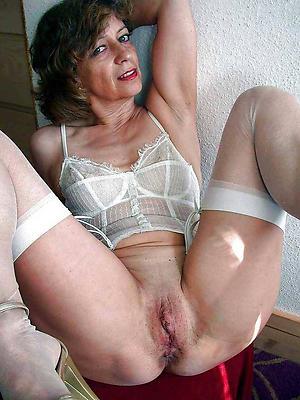 fantastic mature unilluminated woman