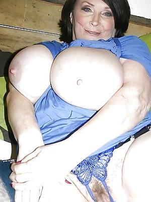 beautiful elderly lady vagina