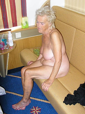 hot old lady stripped