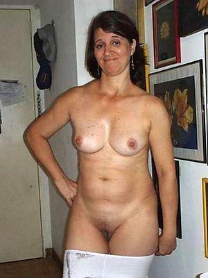 unconstrained mature moms posing nude