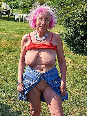 horrific grandma nude
