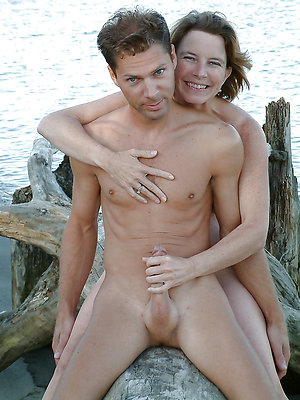 hideous naked mature couple