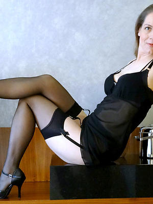 homemade matures in nylons posing nude