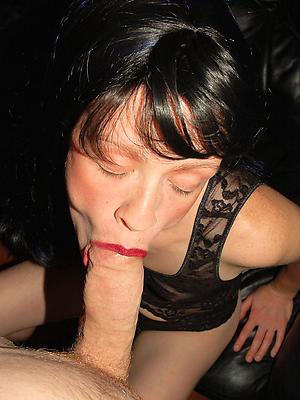 nasty mature women blowjobs porn pics