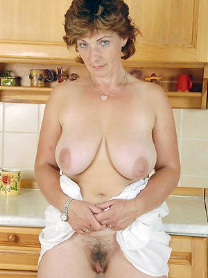 wonderful natural mature milf