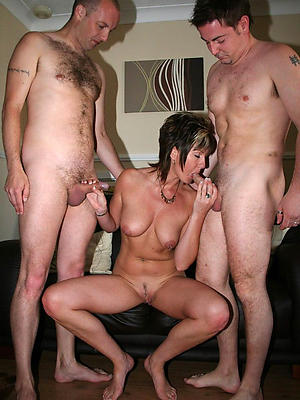 naught full-grown threesome pics