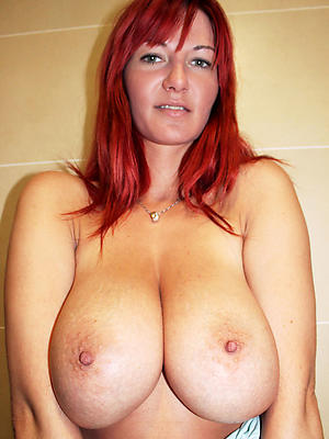 perfect full-grown tits in the buff