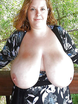 nasty grown up women with broad in the beam tits