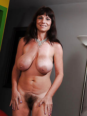 mature brunette mom stripped