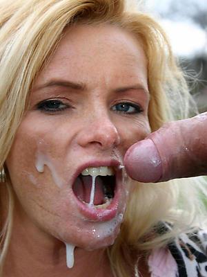 nasty full-grown women facials nude pics