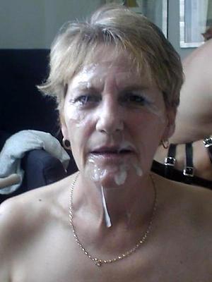 wonderful mature women facials porno pics