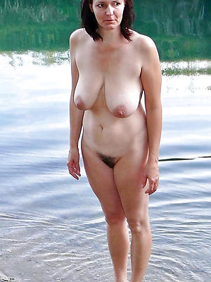 pulchritudinous outdoor full-grown nude pics