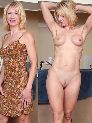 mature dressed exposed photos