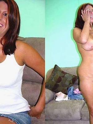 hotties mature dressed undressed porn pics