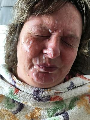 lovely mature blowjob facials porn pics