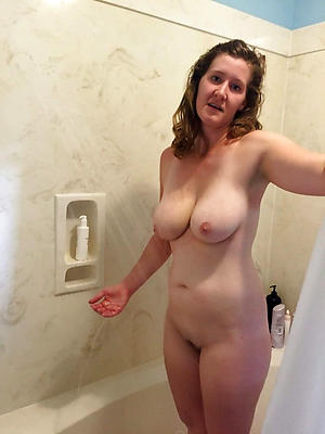 fantastic mature women showering