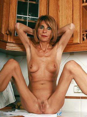 wonderful phthisic matured nude women