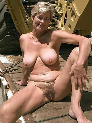 hot unshaved full-grown women stripped
