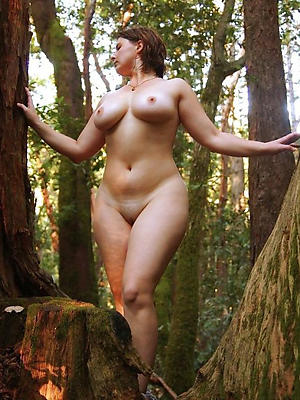 grown up tits outdoors stripped