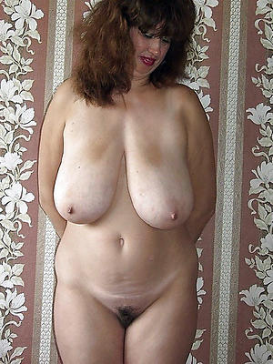 mature natural tit porn posing in one's birthday suit