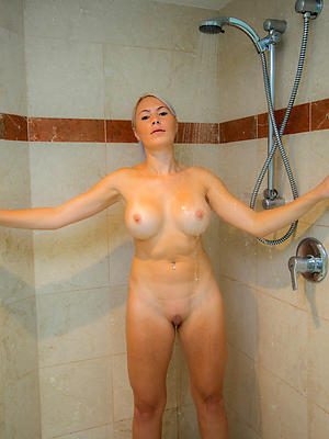 beautiful milf mature women in shower