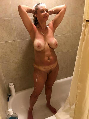 full-grown column in shower pictures