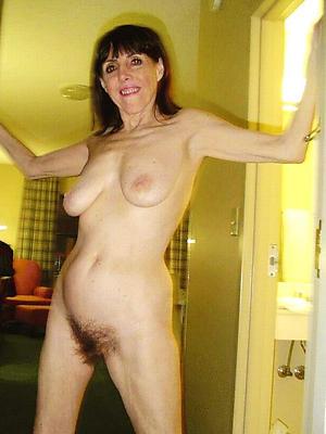 sexy mature brunette bared