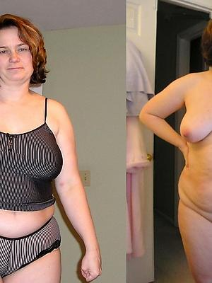 wife dressed undressed stripped