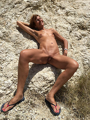 unreasoned skinny mature solo homemade porn