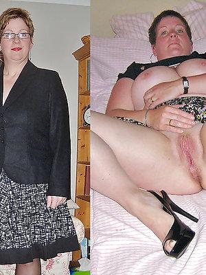 hotties dressed undressed matures pics