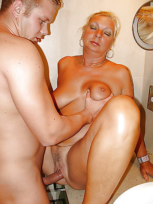 dispirited mature mom making out pics