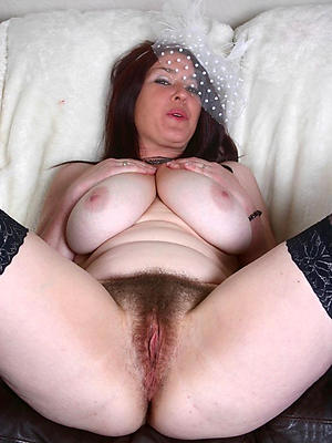 hairy mature tits stripped