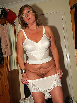 mature wife concerning lingerie stripped