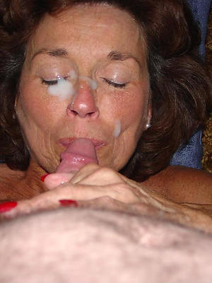 titillating mature blowjobs posing bare
