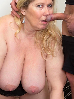 sexy real mature big knockers empty