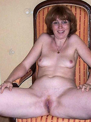 gorgeous horny unconcealed mature women photo